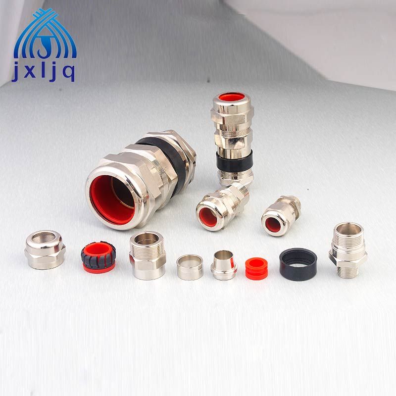 Explosion-proof Brass Double Sealed Cable Gland  JX2 Series